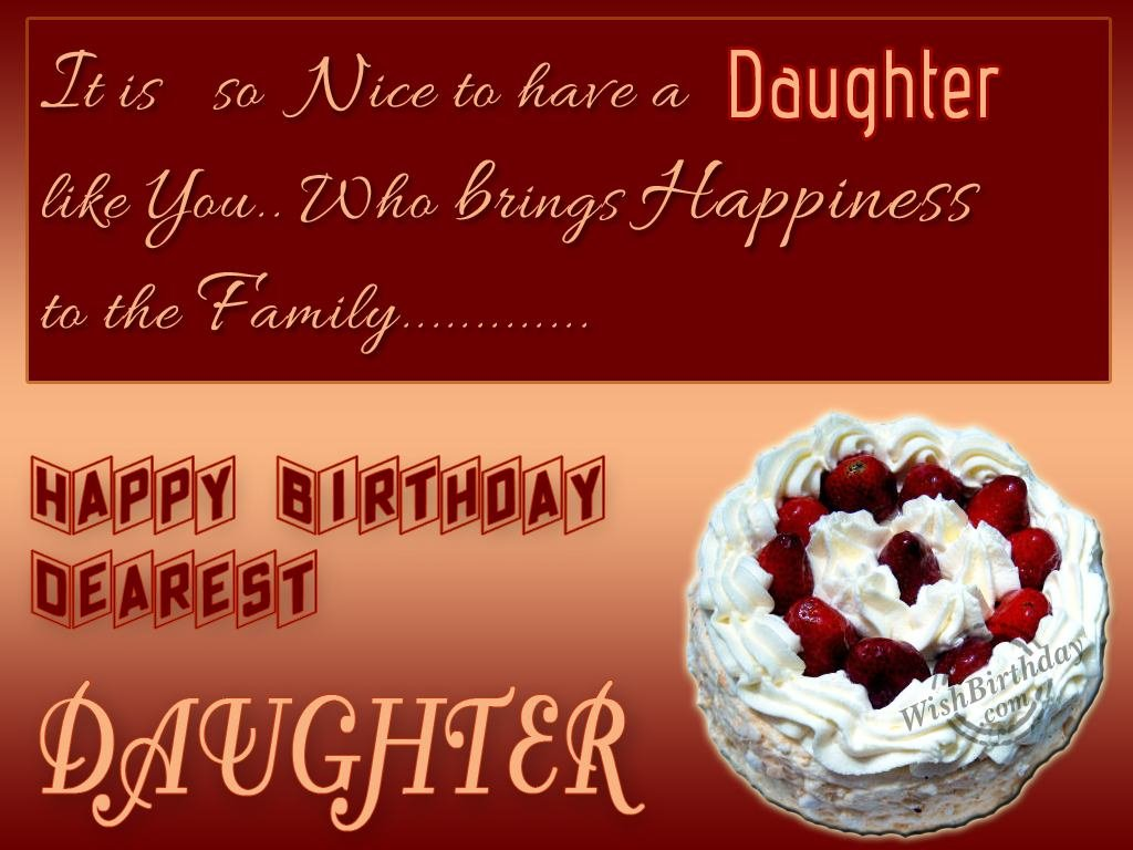 Birthday Wishes For Daughter Birthday Images Pictures – Happy Birthday Cards to My Daughter
