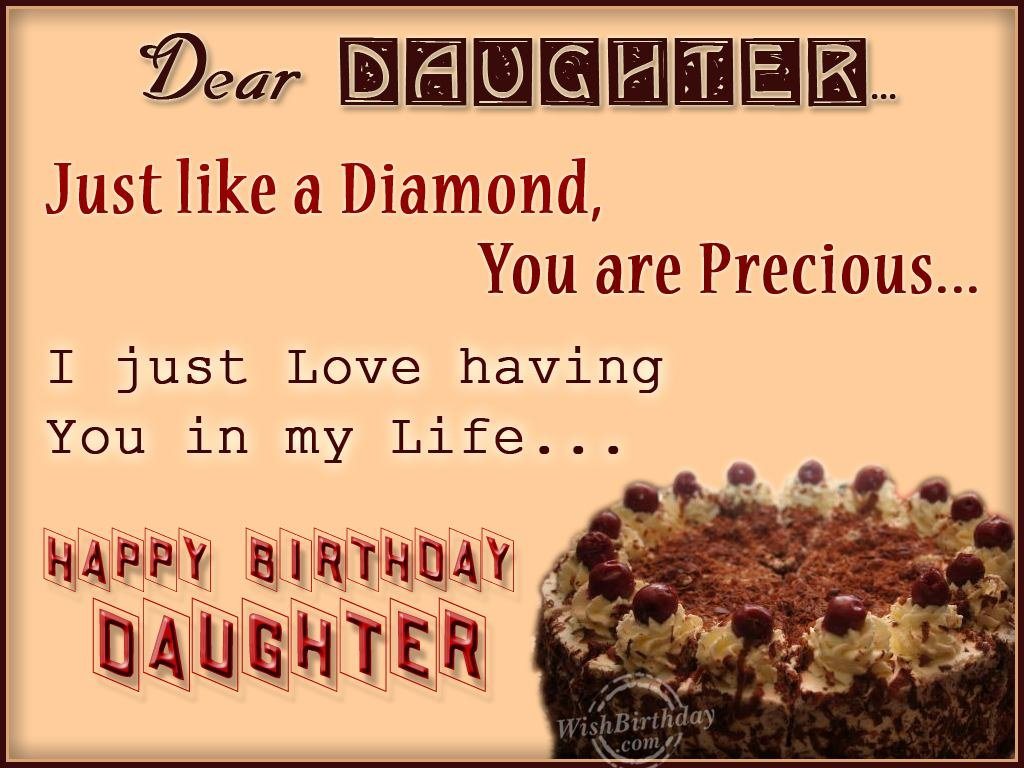 images of birthday wishes for daughter - photo #42