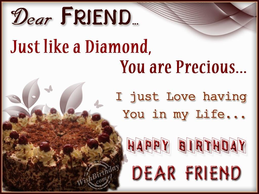 Wishing Special Birthday To My Dear Friend