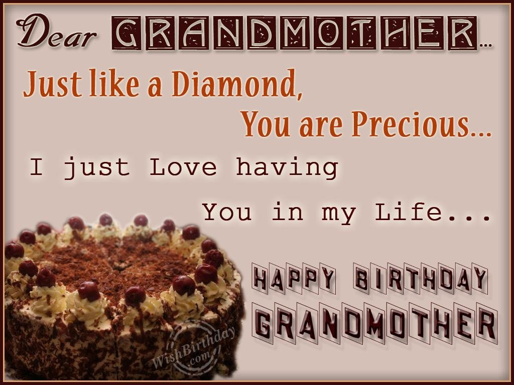my grandmothers birthday If you're fortunate enough to have your grandmother in your life, you're definitely  one of the lucky ones i've never in my life met a woman as.