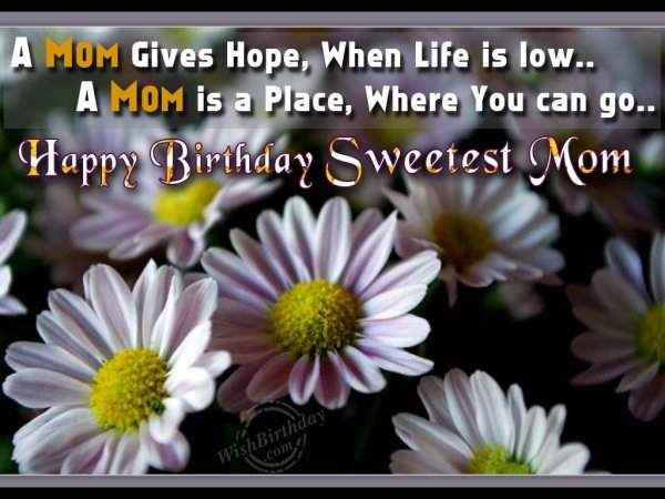 Wishing You Many Happy Returns of The Day Dear Mom