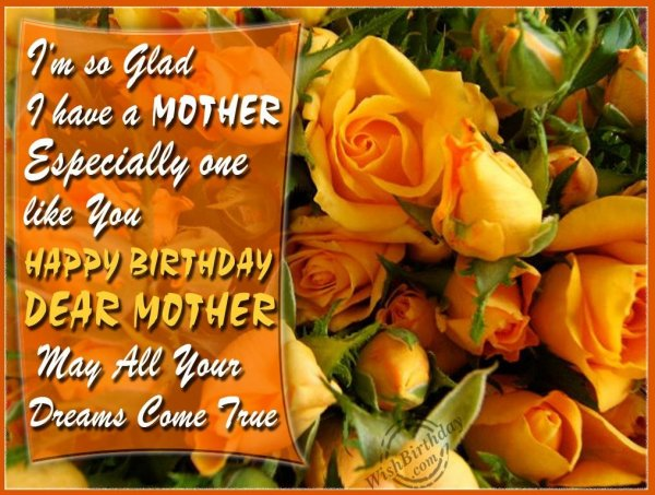 Have A Fantastic Birthday To A Sweetheart Mom - WishBirthday.com