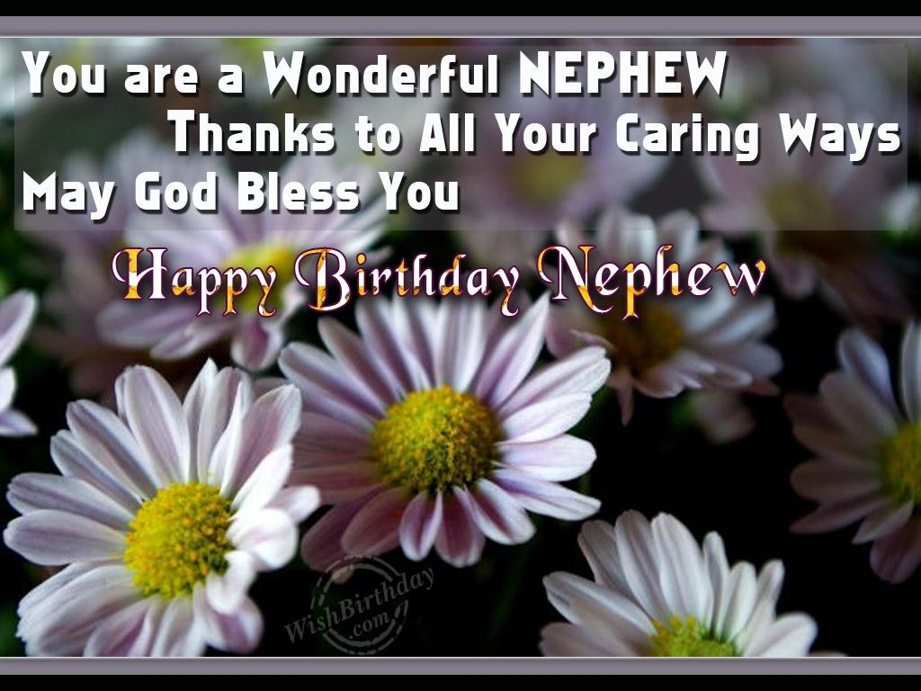 Birthday Wishes For Nephew Birthday Images Pictures – Birthday Cards for Nephew