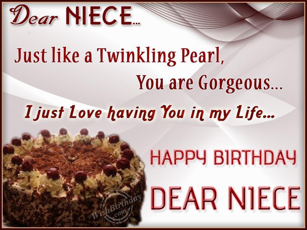 Wishing You Happy Birthday My Precious Niece Wishing My A Happy Birthday