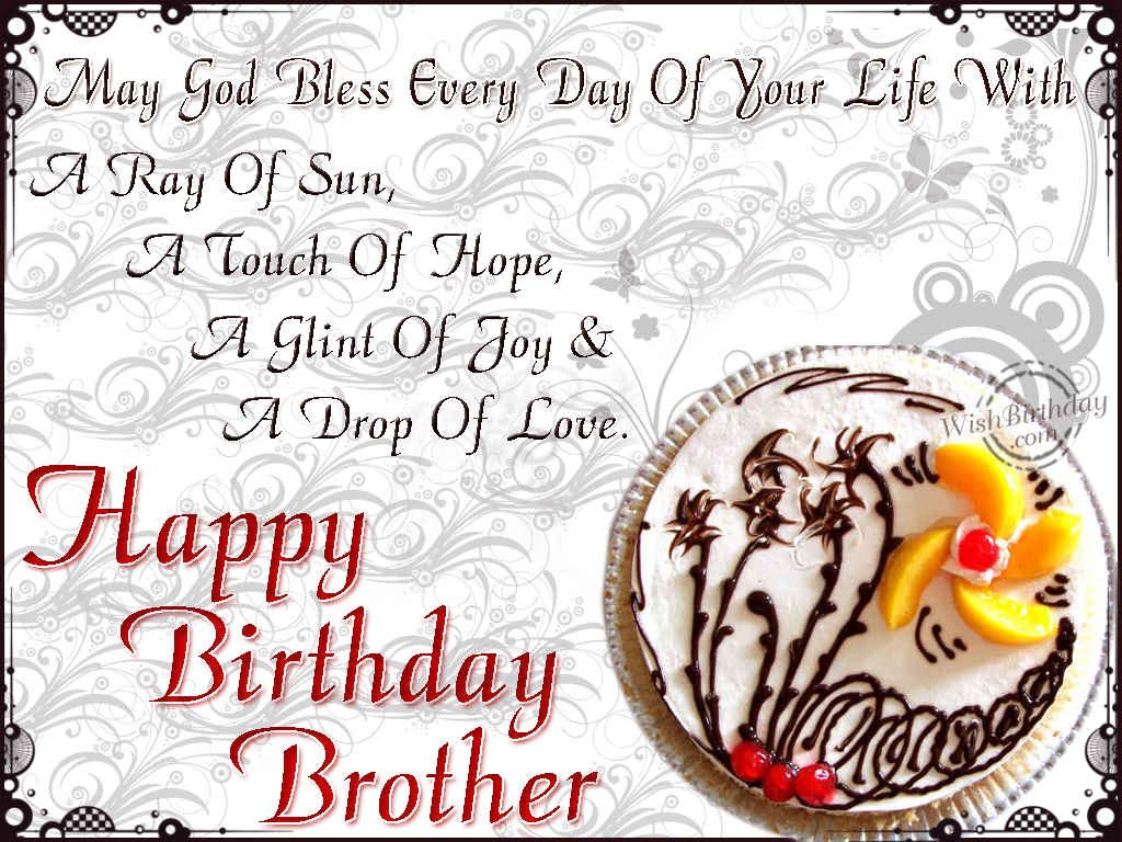 Birthday Cake Images Of Brother : Birthday Wishes For Brother - Birthday Images, Pictures