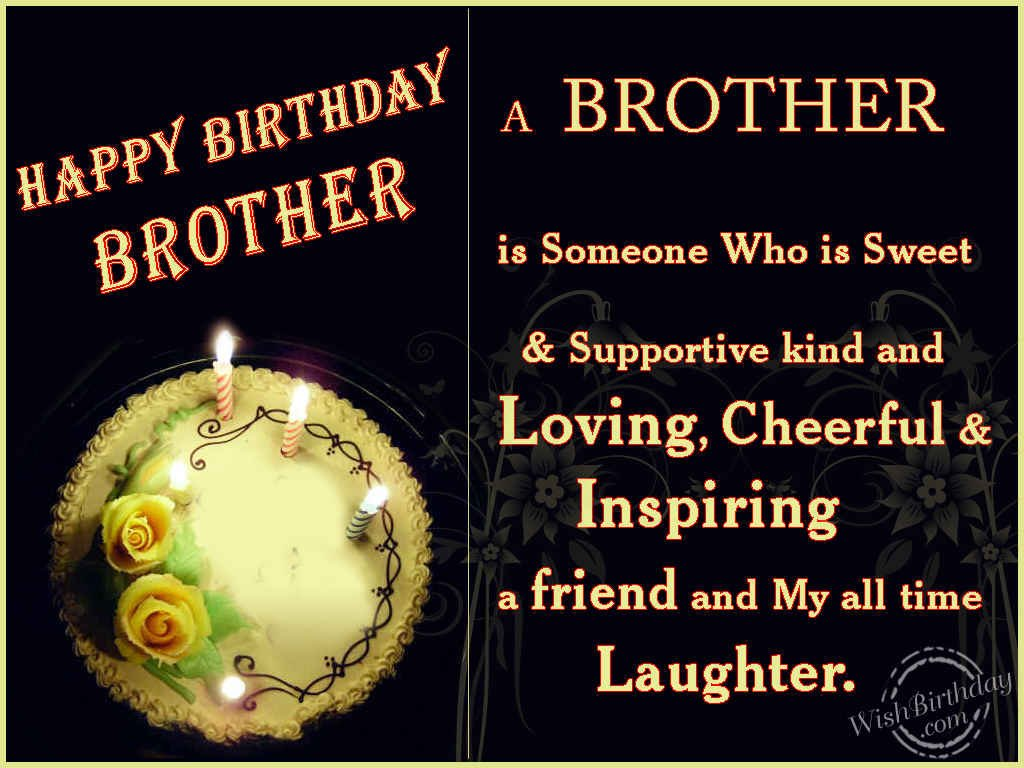 Happy Birthday Greetings Images For Brother Bedwalls