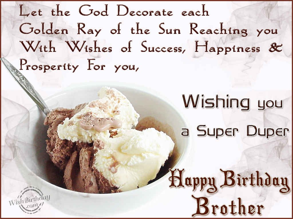 Birthday Wishes For Brother Birthday Images Pictures – Birthday Greetings to Brother