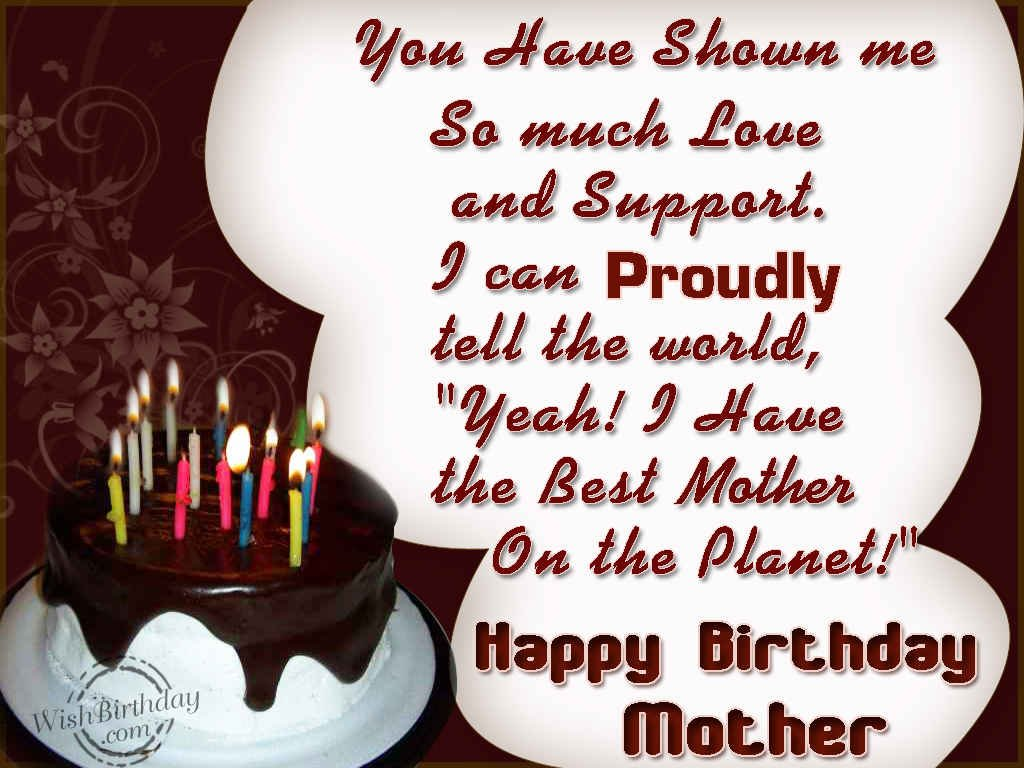 Happy Birthday Wishes Mother ~ Wishing you a very happy birthday mother wishbirthday