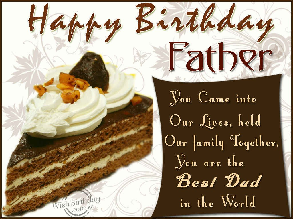 birthday wishes for father - photo #6