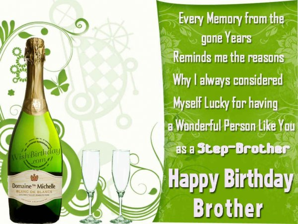 Wishing You A Very Happy Birthday Brother