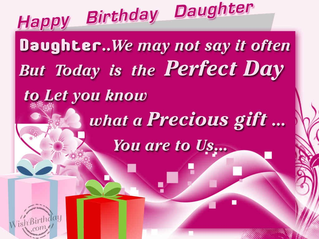 images of birthday wishes for daughter - photo #37