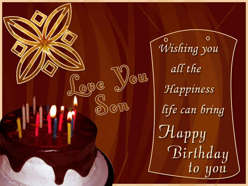Birthday Wishes For Son In Law Birthday Images Pictures – Happy Birthday Card Son