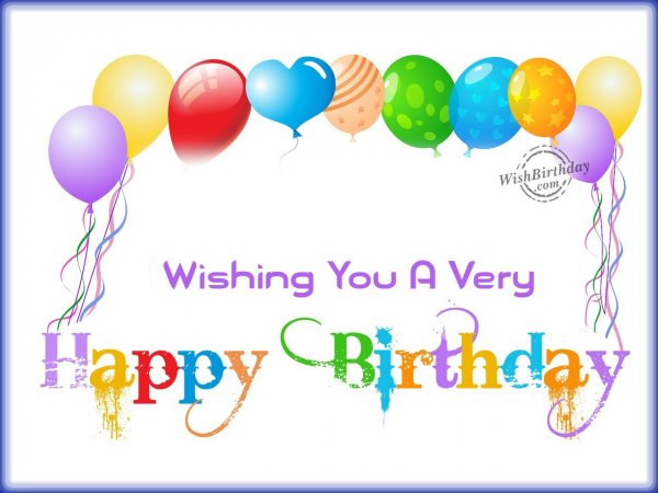 Wishing You Happy Birthday Wishbirthday Com Happy Birthday Child Wishes