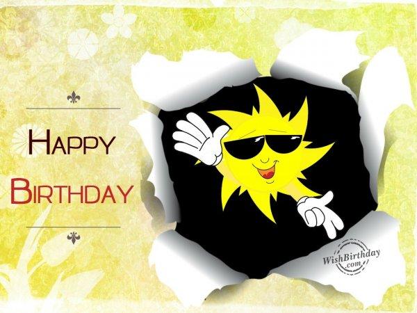 Happy Birthday - WishBirthday.com
