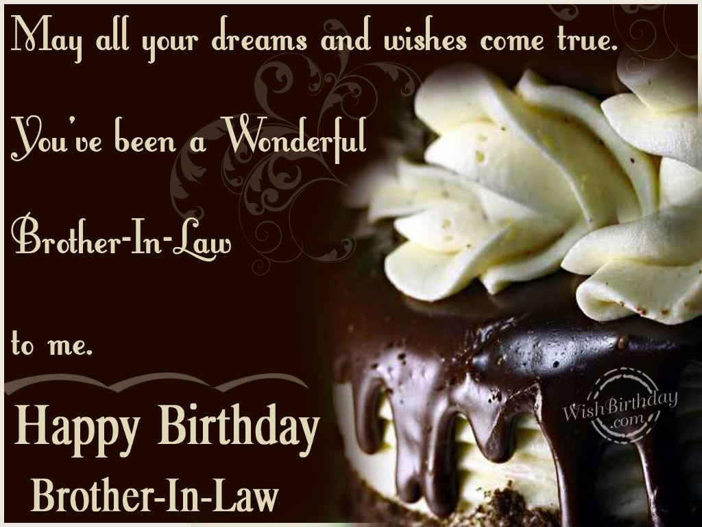 Birthday Wishes For Brother In Law ~ Wishing you a very happy birthday brother in law wishbirthday