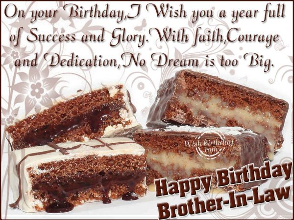 Happy Birthday Brother-In-Law