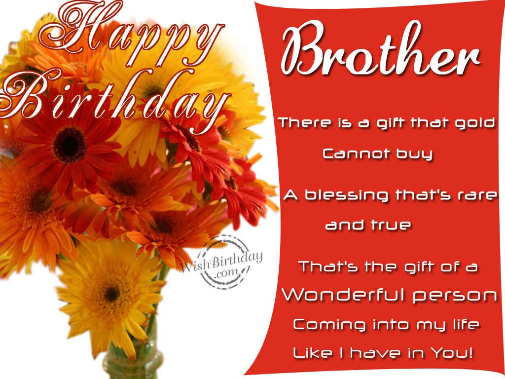 Birthday wishes for brother birthday images pictures happy birthday to a wonderful person kristyandbryce Images