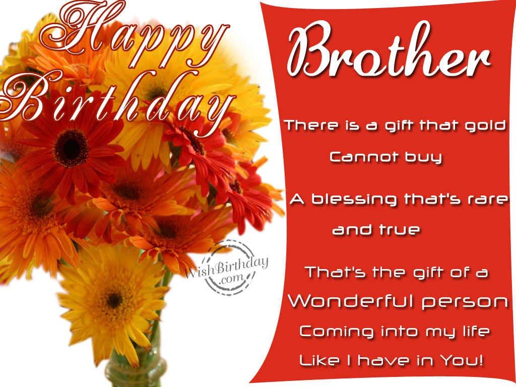 Birthday Wishes Religious Brother ~ Happy birthday to a wonderful person wishbirthday