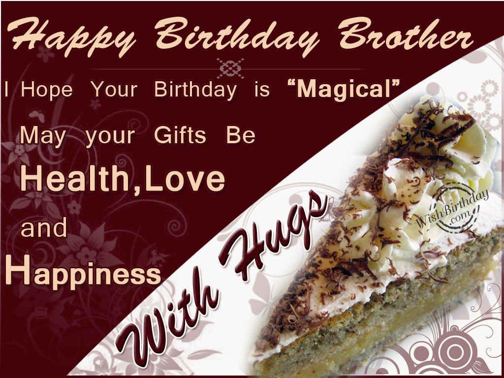 Happy birthday brother wishbirthday kristyandbryce Images