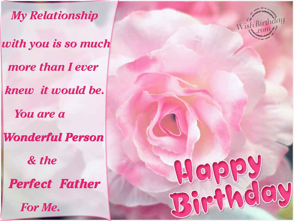 Happy Birthday Father WishBirthday – Happy Birthday Greetings to Father