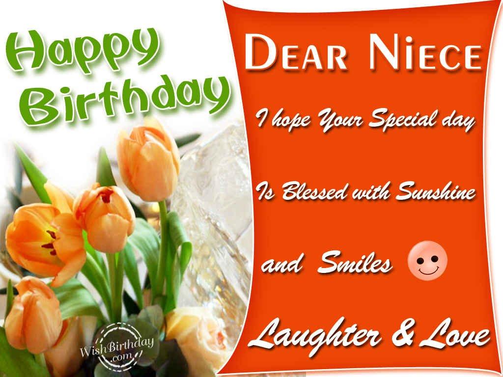 Happy Birthday Dear Niece Wishbirthday Com Happy Birthday Wishes For My Niece