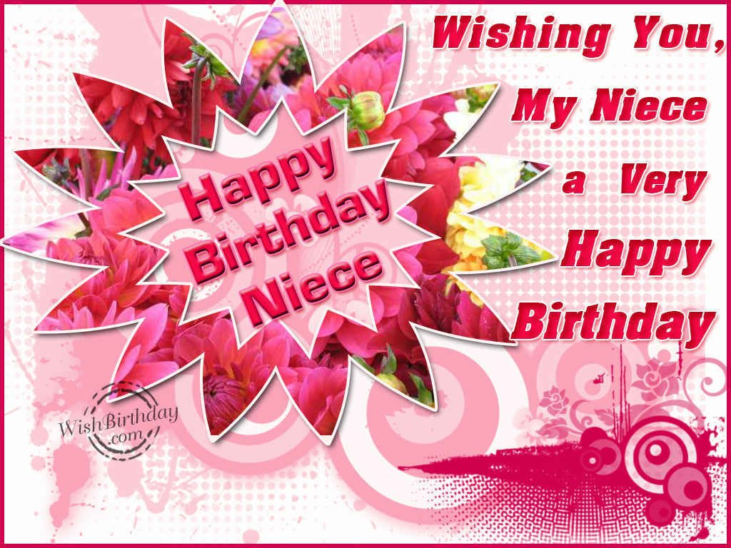 Happy Birthday Niece Image ~ Birthday wishes for niece images pictures