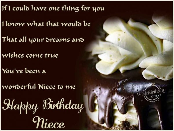 birthday wishes to niece