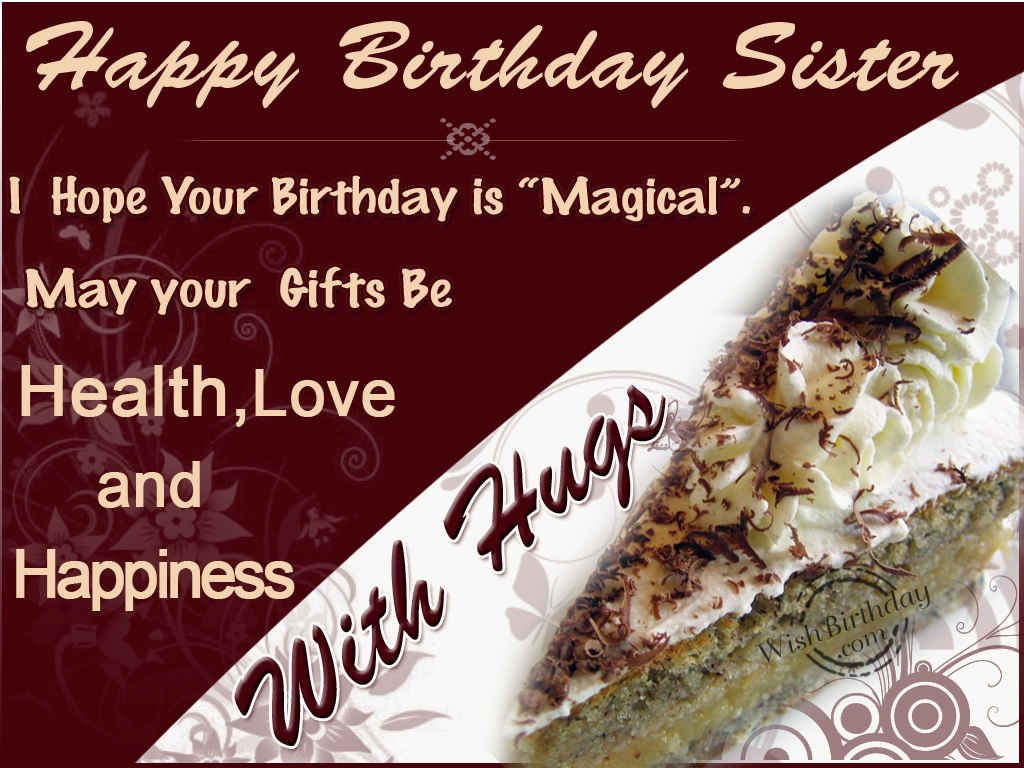 Happy birthday sister wishbirthday kristyandbryce Gallery