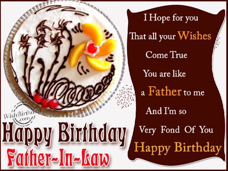 birthday wishes for father - photo #18