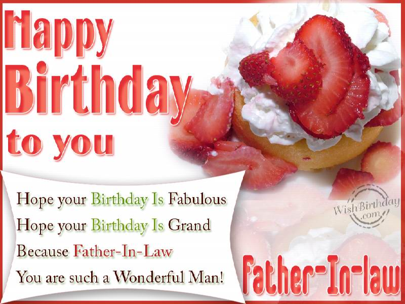 Hope your birthday is fabulous father in law wishbirthday hope your birthday is fabulous father in law m4hsunfo