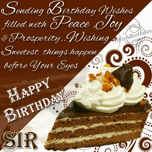 Image result for happy birthday sir