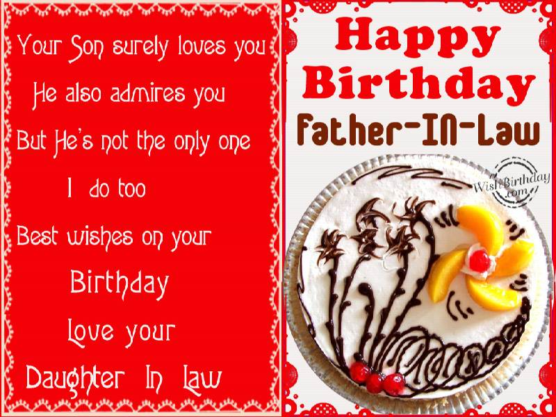 Birthday wishes for father in law birthday images pictures birthday wishes to father in law from daughter in law m4hsunfo