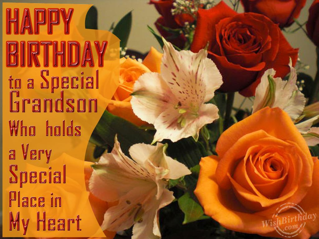 Happy Birthday Greeting Cards For Grandson To A Special Wishbirthday