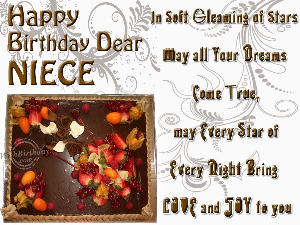 Happy Birthday Niece Images African American ~ Happy birthday dear niece wishbirthday