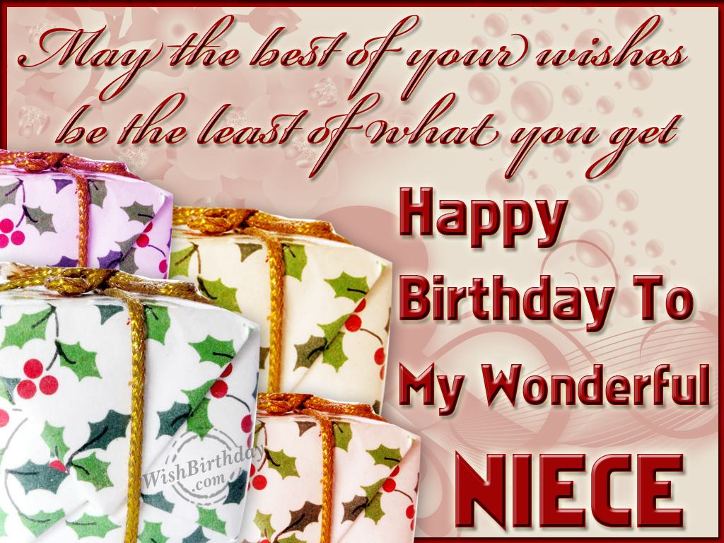 Happy Birthday To My Niece Graphics Happy Birthday To Niece Wishes