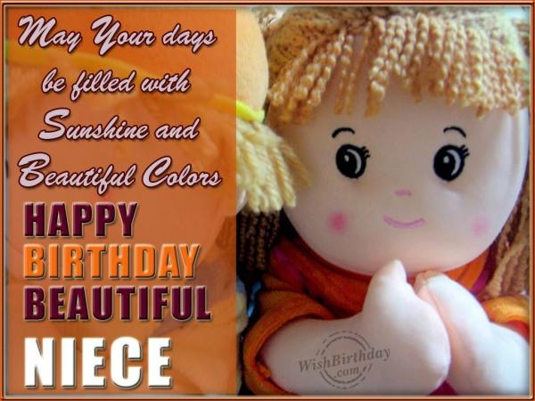 Happy Birthday My Sweet Niece