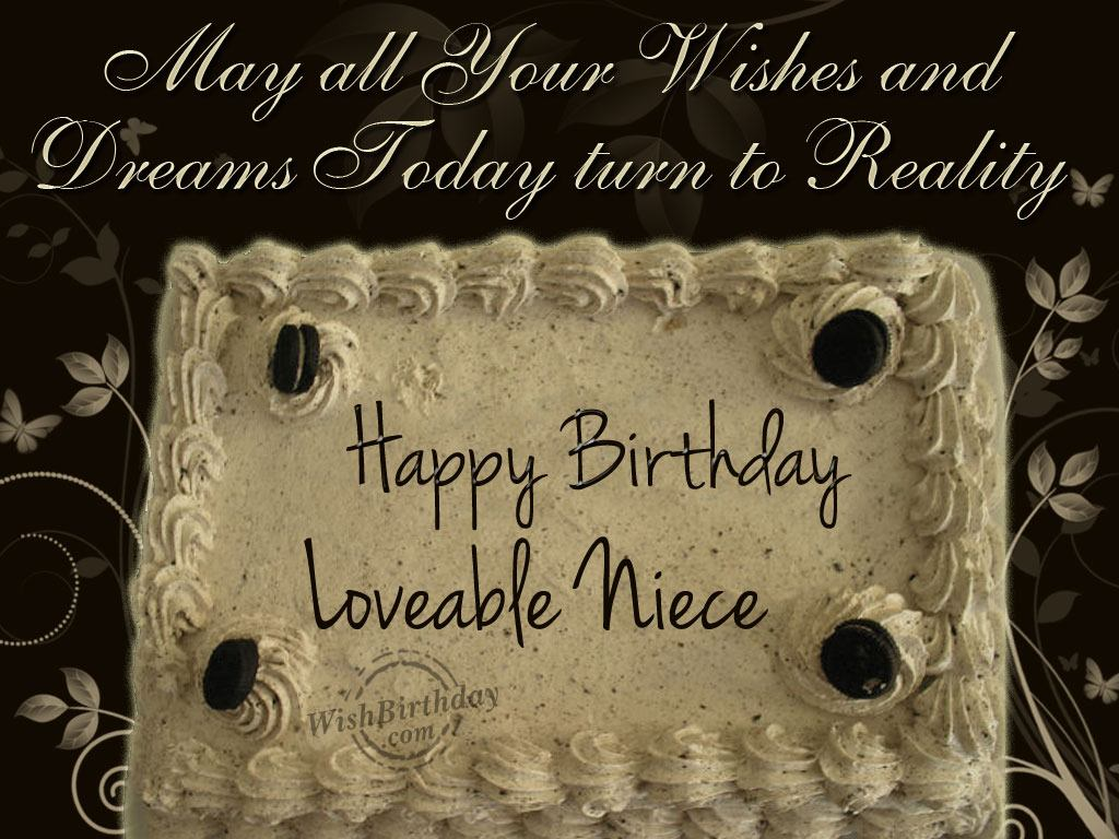 Birthday wishes to lovable niece wishbirthday birthday wishes to lovable niece kristyandbryce Choice Image