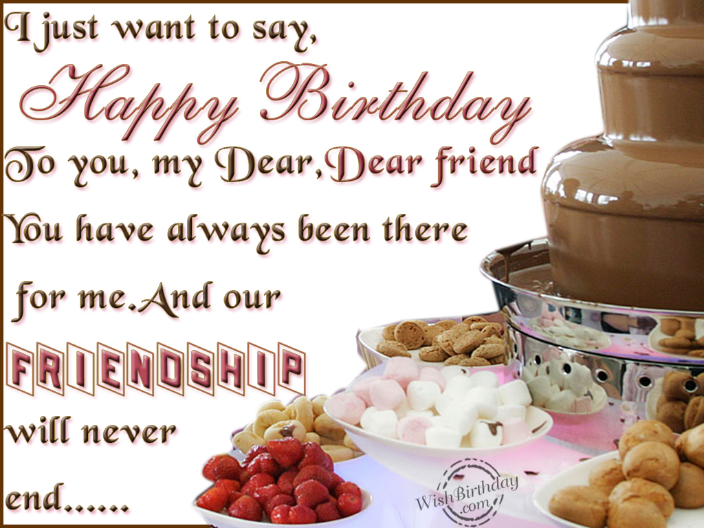Birthday Wishes For Friend Birthday Images Pictures – Birthday Greeting for Friend