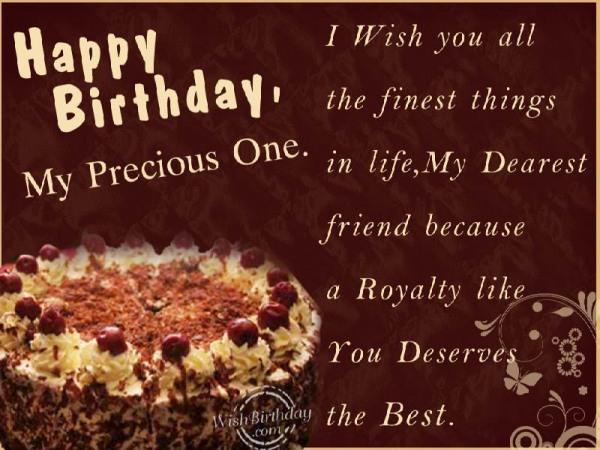 how to write a birthday wish to my best friend