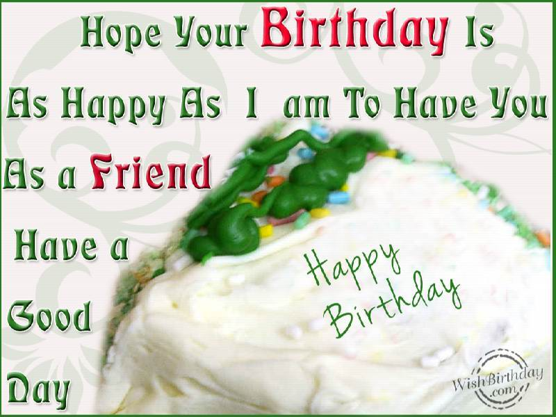 Happy birthday dear friend quotes quotesgram