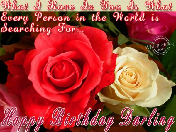 You Are My Darling - WishBirthday.com