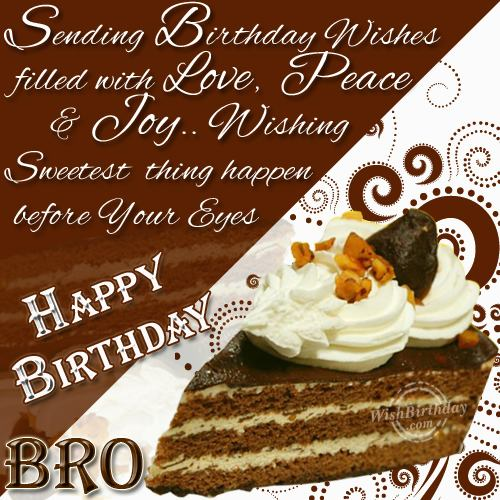 Happy Birthday Loving Brother
