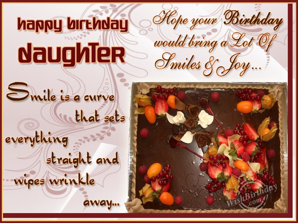 Birthday Greetings To Daughter Fresh Greeting Cards New Happy My Many Returns Of The Day Dear Wishbirthday Com