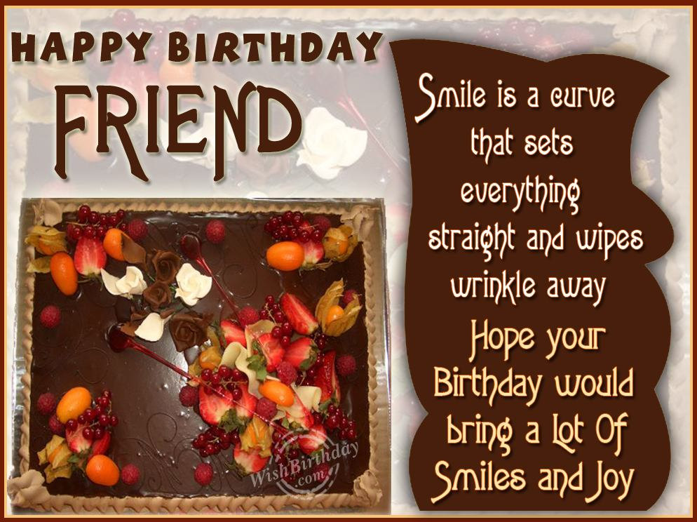 Wishing you happy birthday loving friend wishbirthday com