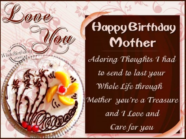 Happy Birthday Caring Mother