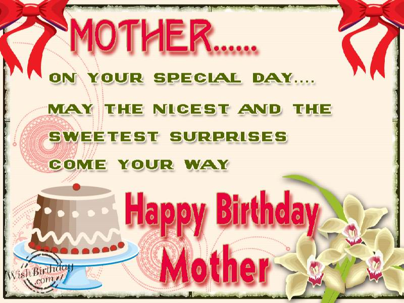 Birthday Wishes For Mother Birthday Images Pictures – Birthday Greetings for Mother