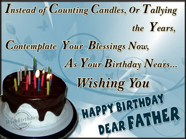 Happy Birhday My Dear Dad