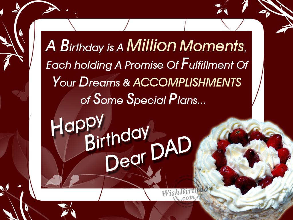 Birthday Wishes For Father Birthday Images Pictures – Happy Birthday Greetings to Father