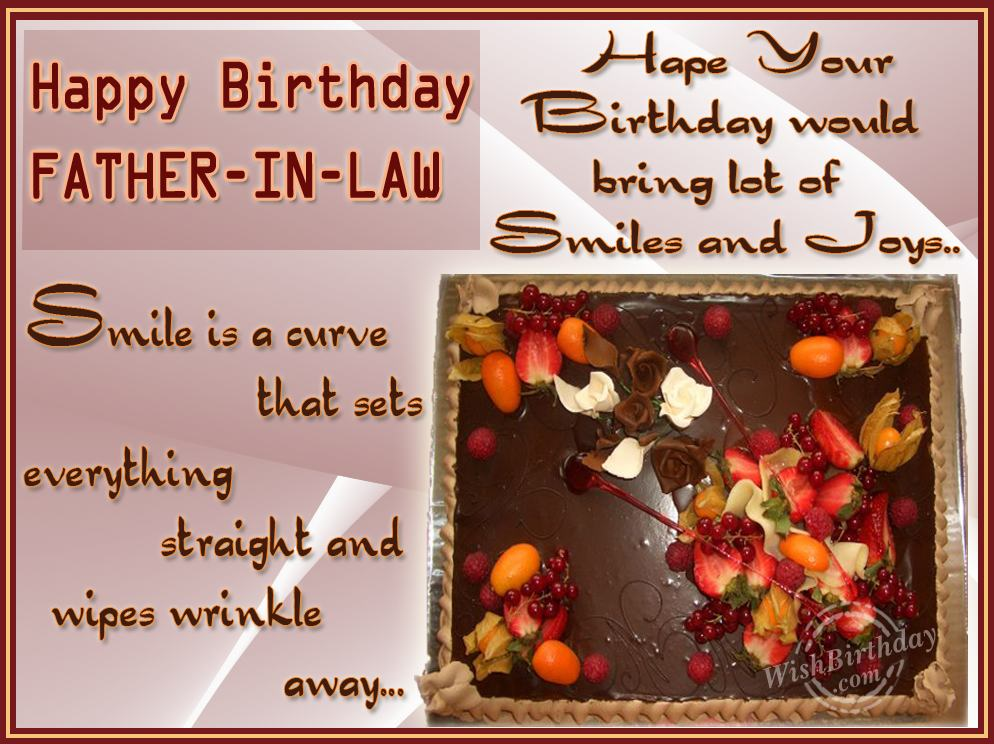 Happy birthday father in law quotes m4hsunfo