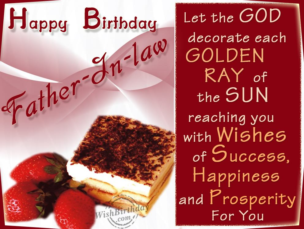 Wishing happy birthday to a caring father in law wishbirthday wishing happy birthday to a caring father in law m4hsunfo